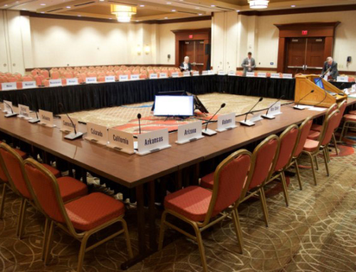 Conference rental push to talk mics with confidence monitors