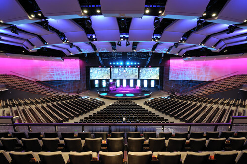 gateway church stage