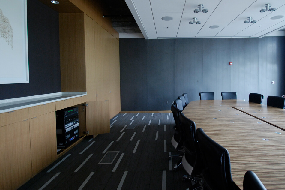 video conferencing system for boardroom