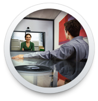 video conferencing in progress