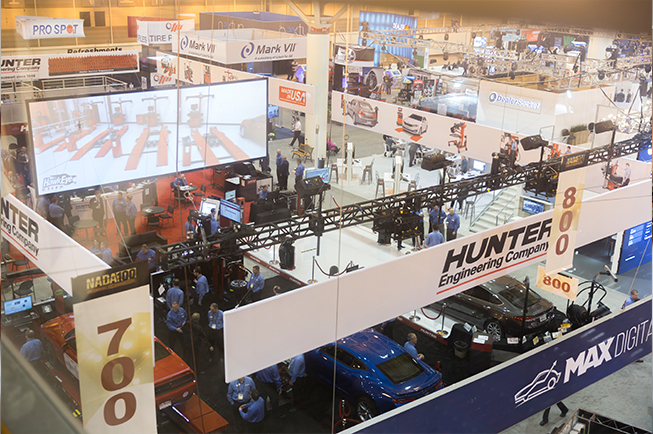 trade show audio visual equipment and support