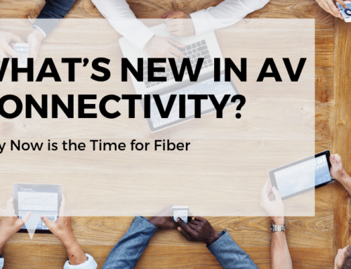 FIBER: What's New in AV Connectivity?