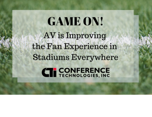 How AV is Improving the Fan Experience in Stadiums Everywhere