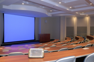 lecture hall audio visual