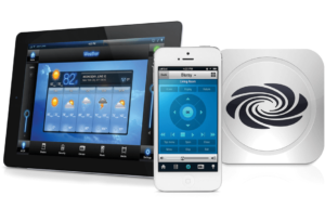 crestron go on touch panel and phone